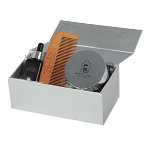 Mystic Man USDA Certified Organic Styling Products with Sedr Extract (Grooming Kit)