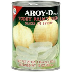 Fruits in Syrup (Sliced Toddy Palm Seed) - 20oz [Pack of 3]