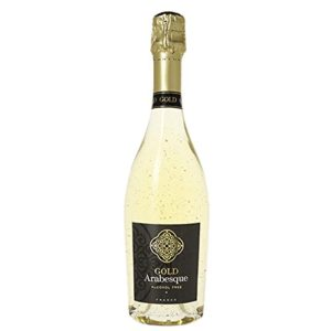 Pierre Chavin Gold Arabesque 24 Karat Non-Alcoholic Sparkling White Wine 750ml