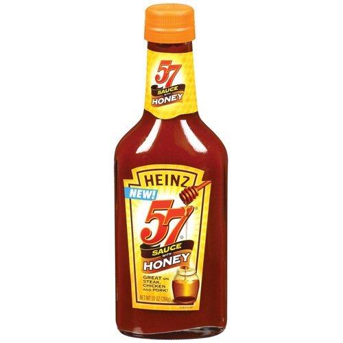 Heinz 57 Steak Sauce with Honey 10oz Bottle (Pack of 3)