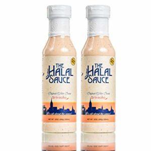 The Halal Sauce - Sriracha White Sauce (12.oz) - 2 Bottles