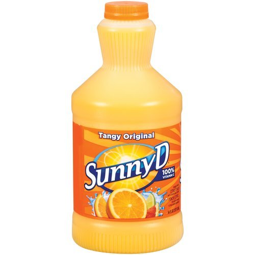 SUNNY D TANGY ORIGINAL ORANGE CITRUS PUNCH DRINK 64 OZ