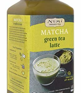 Numi Organic Tea Matcha Green Tea Latte Concentrate, 32 Ounces (Pack of 2)