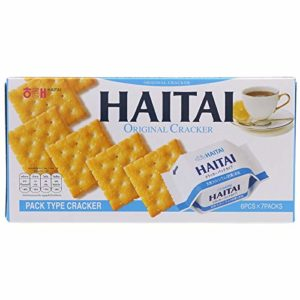 Sinto shop 1pcs Haitai Original Crackers 172g.