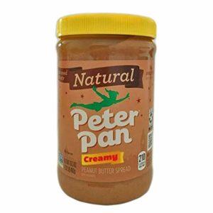 2 PACK Peter Pan Natural CREAMY Peanut Butter / Mantequilla de Mani 2x16.3 oz