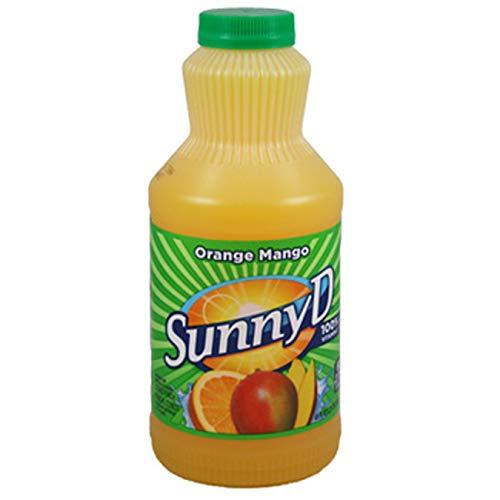(Pack of 8) Sunny D Punch Orange Mango, 40oz