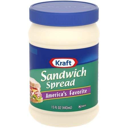 Kraft Sandwich Spread 15 fl. oz. Jar - 5 Pack