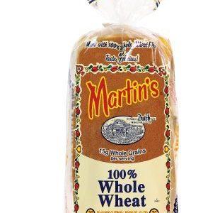 Martin's 100% Whole Wheat Potato Bread - Pack of 3 by Martin's