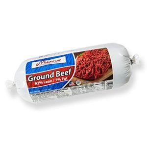 Midamar Halal Ground Beef (93% Lean) Bulk Case - 12/1 lb pkgs