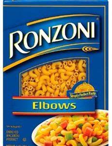 Ronzoni Elbows Pasta 16 oz (Pack of 20)