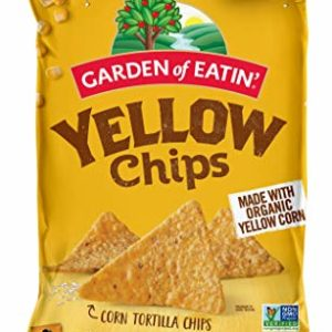 Garden of Eatin Yellow Corn Tortilla Chips, 16 oz. (Pack of 12) (Packaging May Vary)
