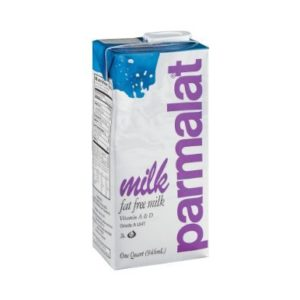 Parmalat Fat Free Milk (One Qrt) 2pk