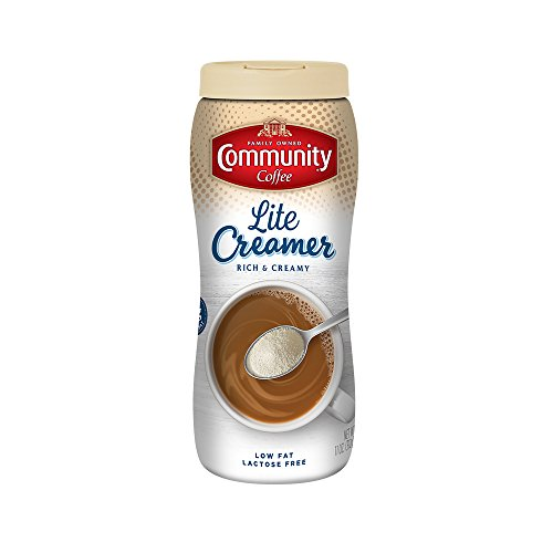 Community Coffee Lite Creamer, 11 Ounce (Pack of 6)