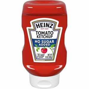 Heinz No Sugar Added Tomato Ketchup, 13 Ounce Squeeze Bottle