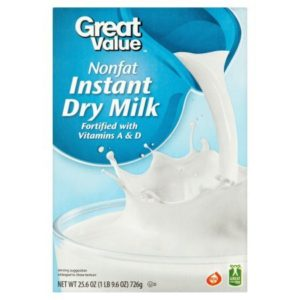 INSTANT NONFAT DRY MILK With Vitamins A and D Real Kosher Dairy No Artificial Flavors Or Colors