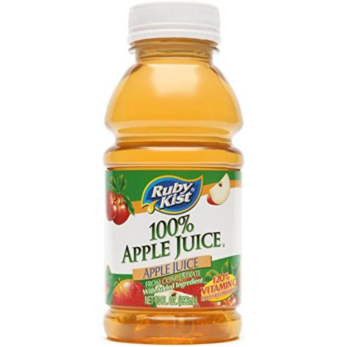 Ruby Kist 100 Percent Apple Juice, 10 Fluid Ounce -- 24 per case.
