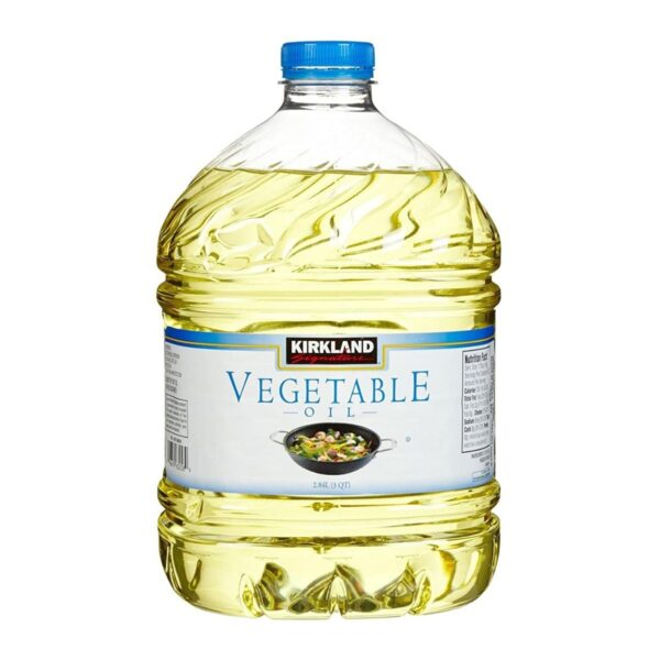 Kirkland Signature 100% Pure Vegetable Oil 3 qt.