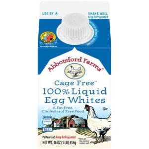 Abbotsford Farms Cage Free 100% Liquid Egg Whites, 16 oz