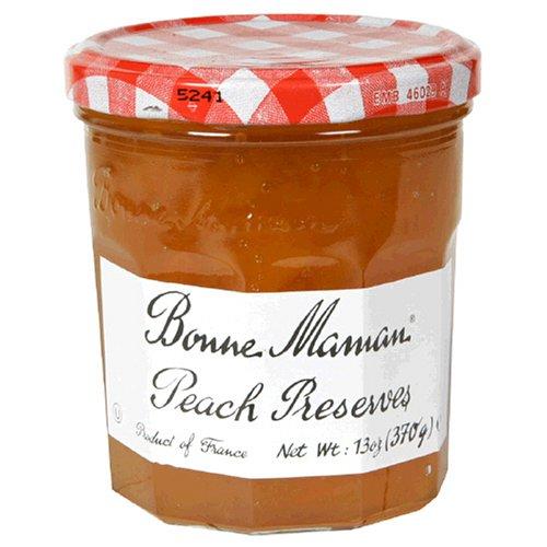 Bonne Maman Peach Preserves, 13-Ounce Jars