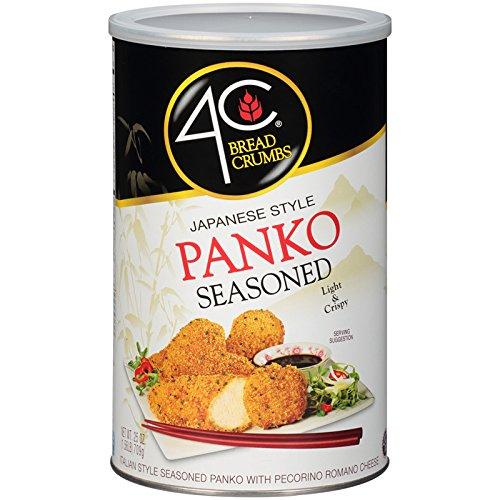4C Panko Seasoned Bread Crumbs 25 oz. (Pack of 3)