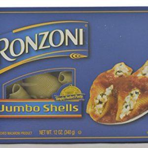 Ronzoni Jumbo Shells Pasta 12 oz