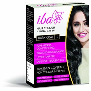 Iba Halal Care Hair Colour, Dark Coal, 60g