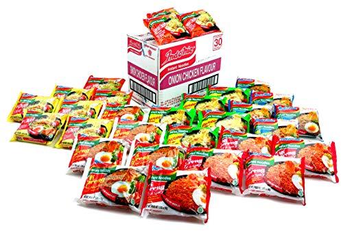 Indomie 6 Flavor Variety, 30 Pack