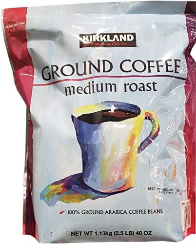 Kirkland Medium Roast Coffee-40 oz