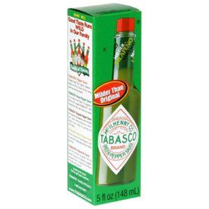 Tabasco Green Pepper Sauce, 5-Ounce Bottle
