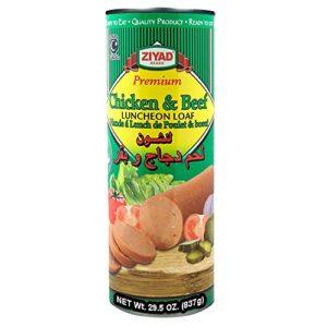 Ziyad Chicken & Beef Lunch Loaf, Halal 29.5 OZ, (Pack 1)