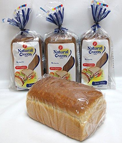 Natural Ovens Bakery Better White Bread (Pack of 4)