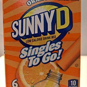 Sunny D Singles To Go! Orange 3 pack!
