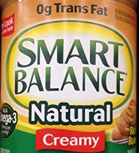 Smart Balance Natural CREAMY PEANUT BUTTER 26oz (4 Pack)