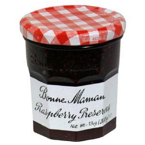 Bonne Maman Raspberry Preserves, 13-Ounce Jars