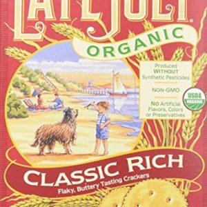 Late July Snacks Organic Classic Rich Crackers - 6 oz