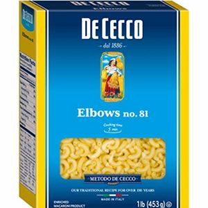 De Cecco Pasta, Elbows, 16 Ounce (Pack of 5)