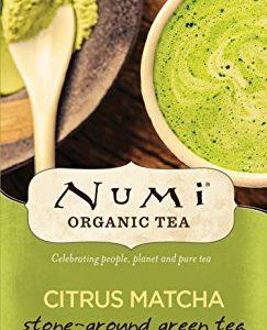 Numi Organic Tea Citrus Matcha, 30 Grams / 1.06 Ounces per Box, Highest Grade Japanese Matcha Green Tea Powder