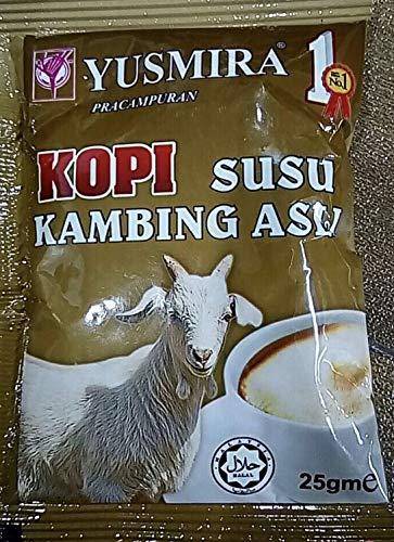 Yusmira Goat Milk Powder with coffee 25 G x 5 sachets
