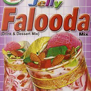 Laziza Falooda Mix Jelly, 235-Gram Boxes (Pack of 6)