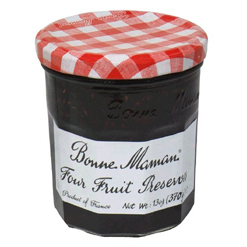 Bonne Maman Four Fruits Preserves, 13-Ounce Jars
