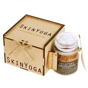Sandalwood Saffron Face Mask - Anti-aging and Hydrating - 100% Natural, Vegan, Halal product by Skinyoga - Ayurvedic and Herbal
