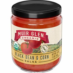 Muir Glen Organic Salsa Black Bean & Corn, 16 oz