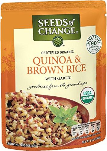 SEEDS OF CHANGE Organic Quinoa & Brown Rice (12pk)