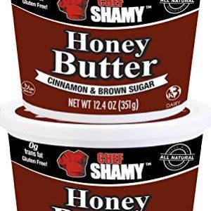 Chef Shamy Honey Butter, Cinnamon Brown Sugar (Pack of 2)