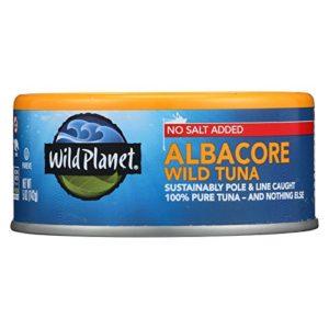 Wild Planet Wild Albacore Tuna, 5 Ounce - 12 per case.