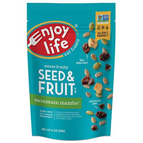 Enjoy Life Seed & Fruit Mix, Soy free, Nut free, Gluten free, Dairy free, Non GMO, Vegan, Mountain Mambo, 6 Ounce Bag