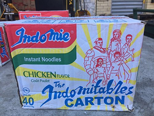 Indomie Nigerian Chicken Flavor Noodles 40 Pack