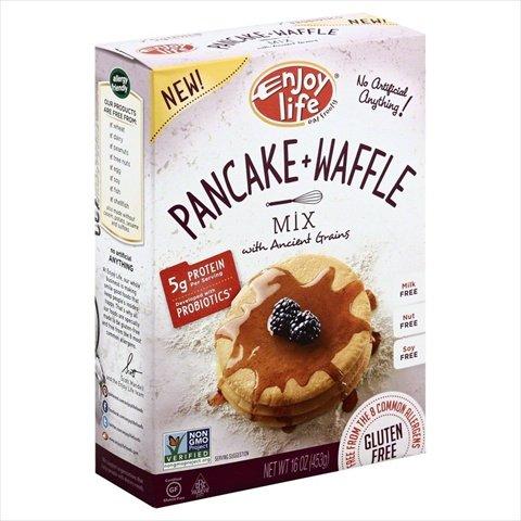 Enjoy Life Pancake and Waffle Mix, 16 Ounce -- 6 per case.