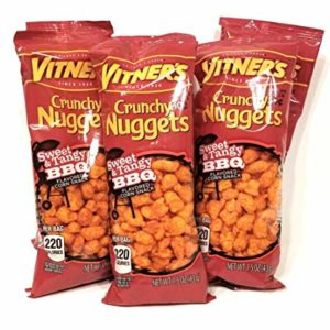 Vitner's Sweet and Tangy BBQ Crunchy Nuggets Pack 12 Pack 1.5oz bags