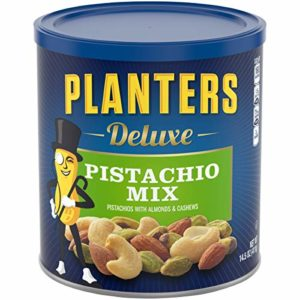 Planters Deluxe Salted Pistachio Mix (14.5oz Canister)